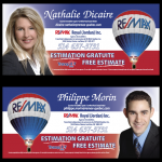 NATHALIE et PHILIPPE. courtiers immobiliers
