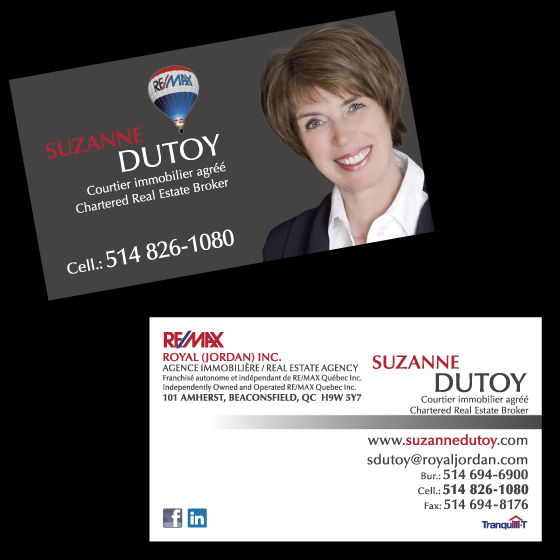 carte d'affaires